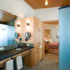 Contemporary Bathroom by Balance Associates Architects