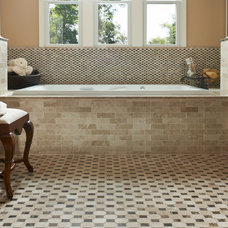 Traditional Bathroom by The Tile Gallery