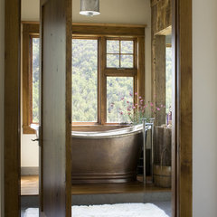 eclectic bathroom by Studio 80 Interior Design