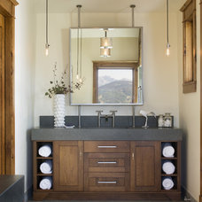 Transitional Bathroom by Studio 80 Interior Design