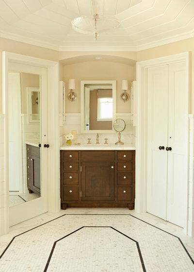 Beach Style Bathroom by Tim Barber Ltd Architecture