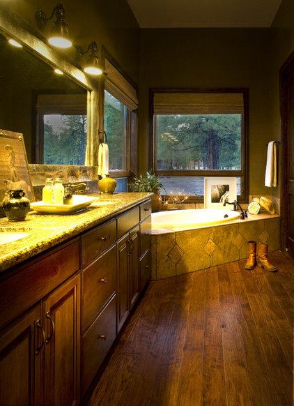 Rustic Bathroom by Studio D - Danielle Wallinger