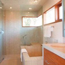 Modern Bathroom by David Hertz & Studio of Environmental Architecture