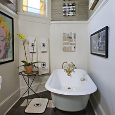 Eclectic Bathroom by Bockman + Forbes Design