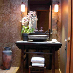 asian bathroom by McKee Construction & Remodeling LLC