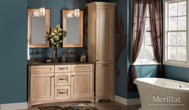 Transitional Bathroom Vanities And Sink Consoles by Capitol Group Kitchen and Bath Center