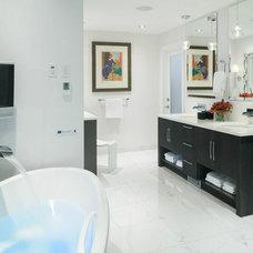 Contemporary Bathroom by Astro Design Centre
