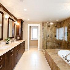 Contemporary Bathroom by Wallmark Custom Homes