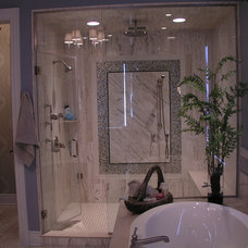 Traditional Bathroom by Schill Architecture LLC