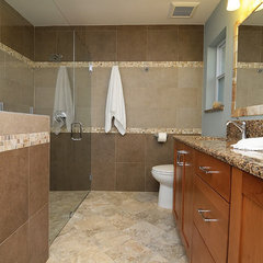 bathroom by Krista Agapito - S&W Kitchens, Inc.