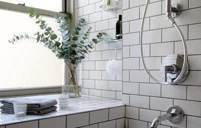 Fråga experten: Allt du behöver veta om kakel i små badrum