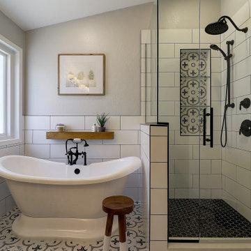 Stylish Bathroom Transformation