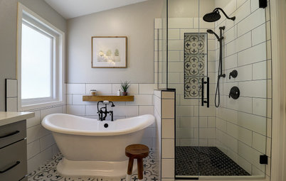 Bathroom of the Week: Smart Storage and a Fresh Look