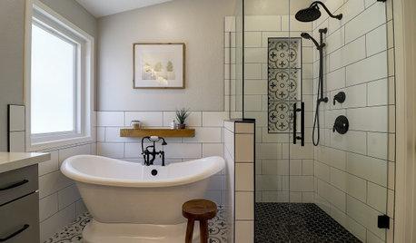 Bathroom of the Week: Smart Storage and a Fresh Look