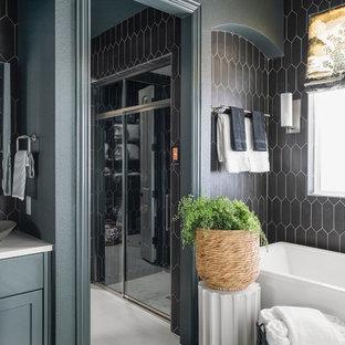 Stylish Lake Forest Bathroom Remodel