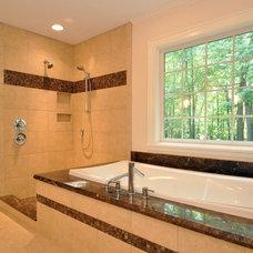 Craftsman Bathroom by PR Hughes, LLC