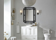 This room is gorgeous! Who makes this wonderful vanity?
