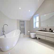 Contemporary Bathroom by Hugo Carter Timber Windows