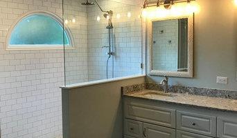 Subway Tile / Doorless Shower