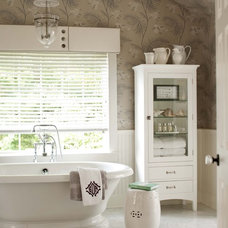 Transitional Bathroom by MuseInteriors