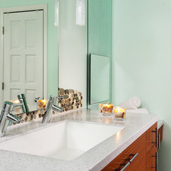contemporary bathroom by Kitchen Studio: Kansas City