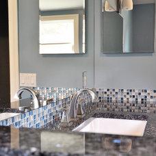 Contemporary Bathroom by LAR Design Studio
