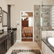 Traditional Bathroom by Brickhouse Construction, LLC