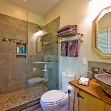 Traditional Bathroom by Grove Park Fine Homes