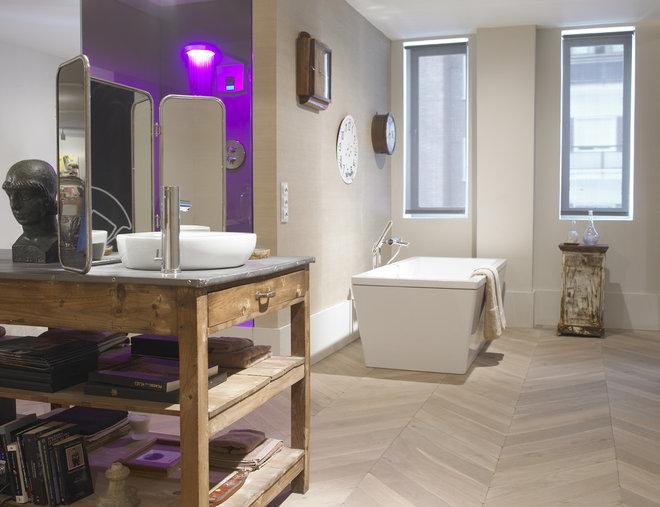 Contemporáneo Cuarto de baño by Barasona Diseño y Comunicación