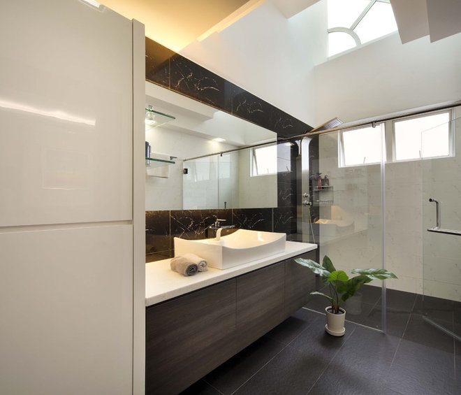 Modern Bathroom by The Interior Place (S) Pte Ltd