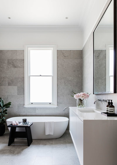 Contemporary Bathroom by Tonka Andjelkovic Design