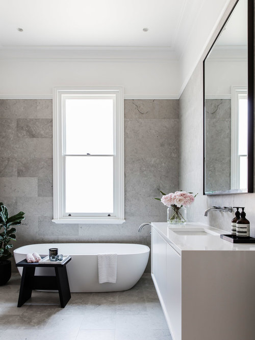 Contemporary sydney bath design ideas pictures remodel for Bathroom designs sydney