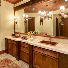 Traditional Bathroom by lisa limited