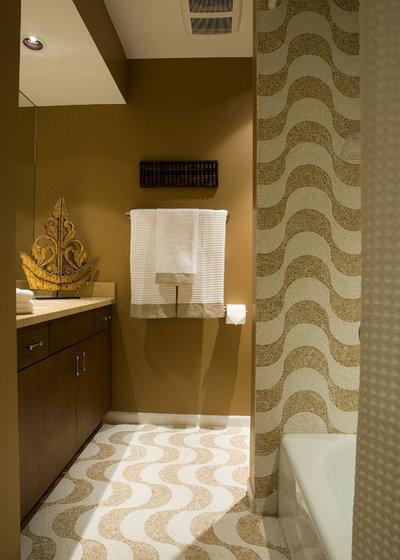 Contemporary Bathroom by Nora Schneider Interior Design