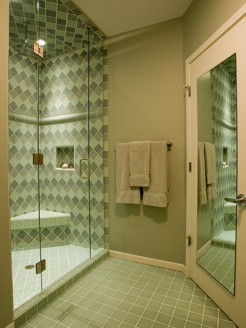 Sea Glass Bathroom Tile Ideas, Pictures, Remodel and Decor