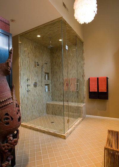 Your shower make room for the bench for Room design 4x4