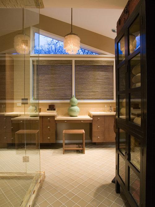 Vanity Linen Closet Houzz