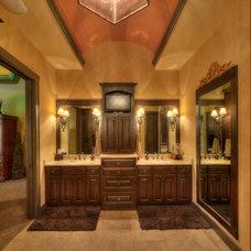Mediterranean Bathroom by Starr Homes