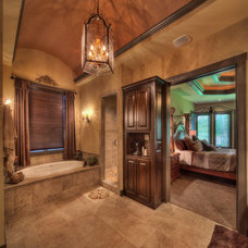 Mediterranean Bathroom by Starr Homes