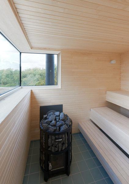 Скандинавский Ванная комната by Arkitekt Mats Fahlander