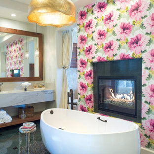 75 Most Popular Bathroom with Open Cabinets Design Ideas ...