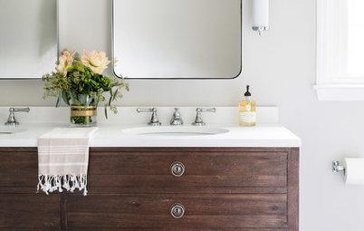 A Classic Bathroom Worth Losing a Closet For