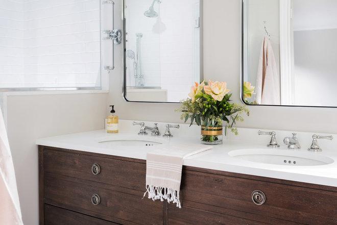 Traditional Bathroom by Liza Nicole Interiors