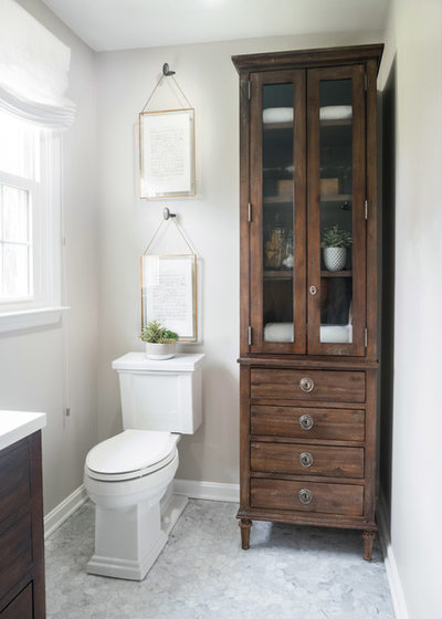 Traditional Bathroom by Liza Nicole Interiors