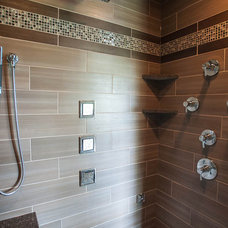 Contemporary Bathroom by Summit Signature Homes, Inc.