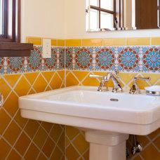Mediterranean Bathroom by Fireclay Tile