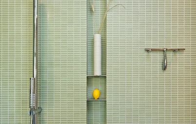 7 Stylish Ways to Stash the Shower Squeegee