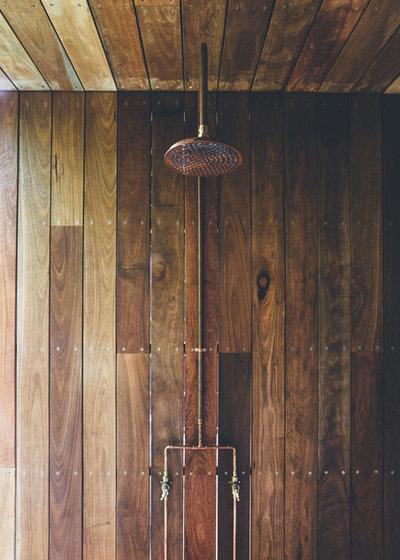 コンテンポラリー 浴室 by Teeland Architects