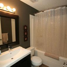 Contemporary Bathroom by Rivet Management Ltd