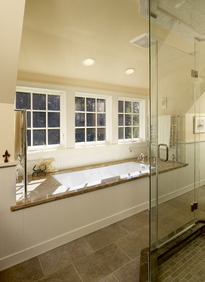 traditional bathroom by Krieger + Associates Architects Inc